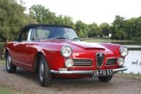 Alfa Romeo 2600 Touring Spider 1962