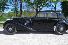 Alvis Speed 25 Charlesworth SportsSaloon 1938