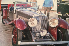 Bentley 3,5 lt 2 seater tourer 1935