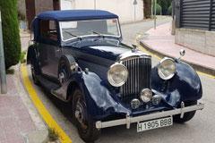 Bentley 4 1/4 DHC 1936