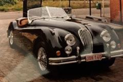 Jaguar XK 140 OTS 1957