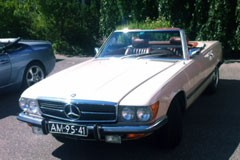 Mercedes SL 350 1972
