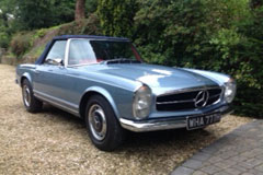 Mercedes Benz 280 SL 1966