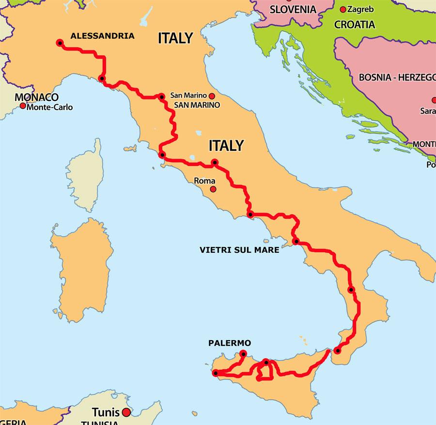 Results Via Flaminia Classic