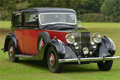 Rolls Royce 25/30 James Young Sports saloon 1937
