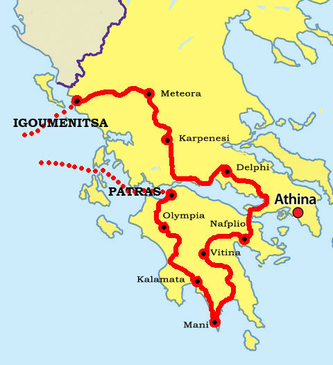 Join the Via Hellenica Classic Rally in Greece 2017