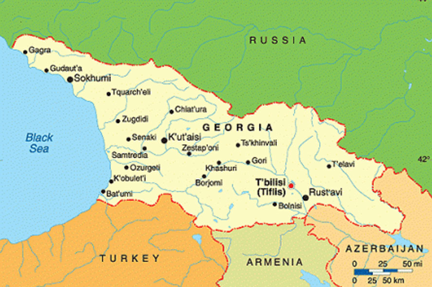 Map Of Georgia Ussr.Join The Pre War Rally In The Caucasus Georgia