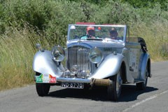 Bentley 4,25 DHC by VandenPlas 1939