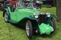 supercharged MG PA 1934
